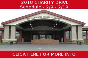 Tillamook High School Charity Drive