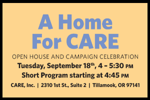 Home for CARE open house