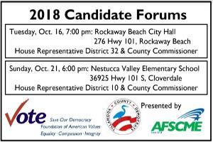 Tillamook County Democrats Candidate Forum