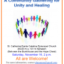A Community Gathering for Unity and Healing  Nov. 16th